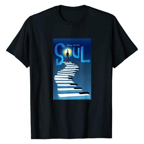 PIXAR Graphic Tshirt 1 Disney and Pixar's Soul Movie Poster T-Shirt