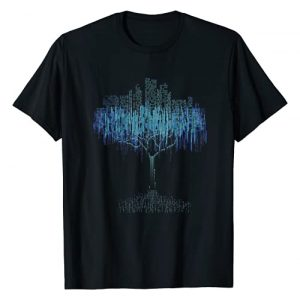 Computer Programmer Binary Tree Coding T Shirt Graphic Tshirt 1 Binary Tree Coding Computer Programmer Tee Shirt T-Shirt