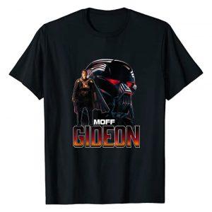 Star Wars Graphic Tshirt 1 The Mandalorian Moff Gideon Collage R16 T-Shirt
