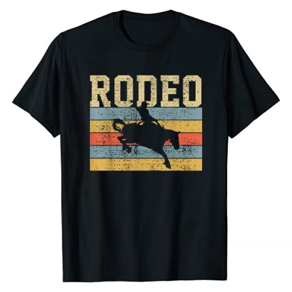 RODEO Graphic Tshirt 1 Horse Riding Retro Vintage Western Country Gift T-Shirt