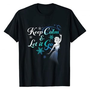 Disney Graphic Tshirt 1 Frozen Elsa Keep Calm & Let It Go Graphic T-Shirt T-Shirt
