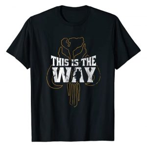 Star Wars Graphic Tshirt 1 The Mandalorian This Is The Way Mythosaur Overlay T-Shirt