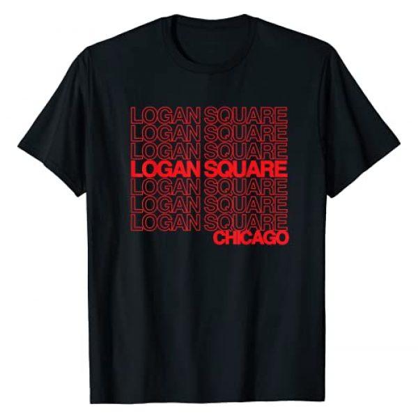 Logan Square T-shirts Graphic Tshirt 1 Logan Square Chicago T-shirt for Logan Square Pride T-Shirt