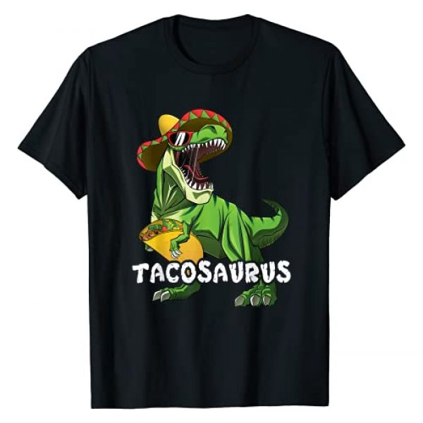 Tacosaurus Cinco De Mayo T Rex Shirts Mejeo Co. Graphic Tshirt 1 Tacosaurus Shirt Cinco De Mayo T Rex Taco Tshirt Boys Kids T-Shirt