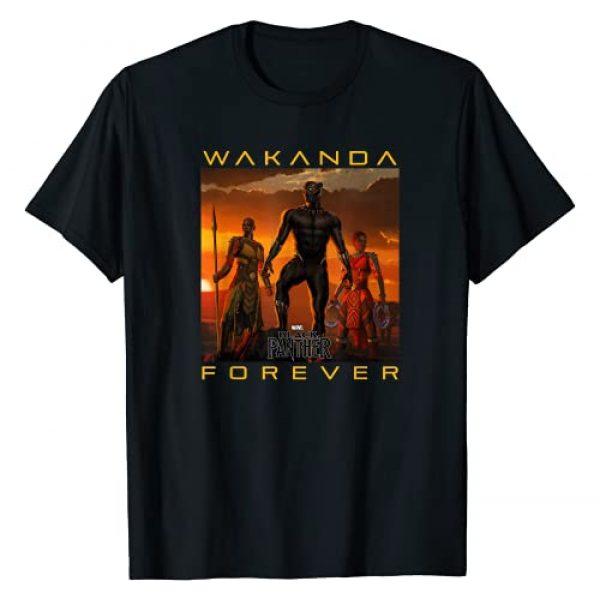 Marvel Graphic Tshirt 1 Black Panther Movie Wakanda Forever Graphic T-Shirt T-Shirt
