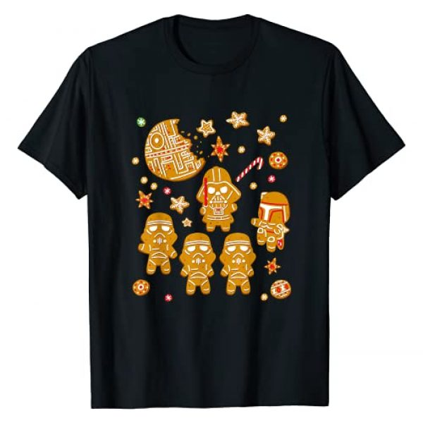 Star Wars Graphic Tshirt 1 Gingerbread Cookies Galactic Empire Holiday T-Shirt