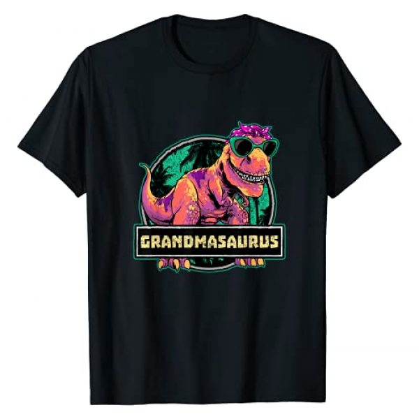 Wowsome! Dinosaur Graphic Tshirt 1 Grandmasaurus T rex Grandma Saurus Dinosaur Family Matching T-Shirt