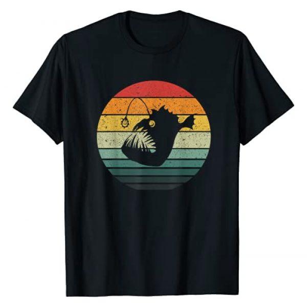 Angler Fish Retro Vintage Art Graphic Tshirt 1 Vintage Angler Fish Retro Design T-Shirt