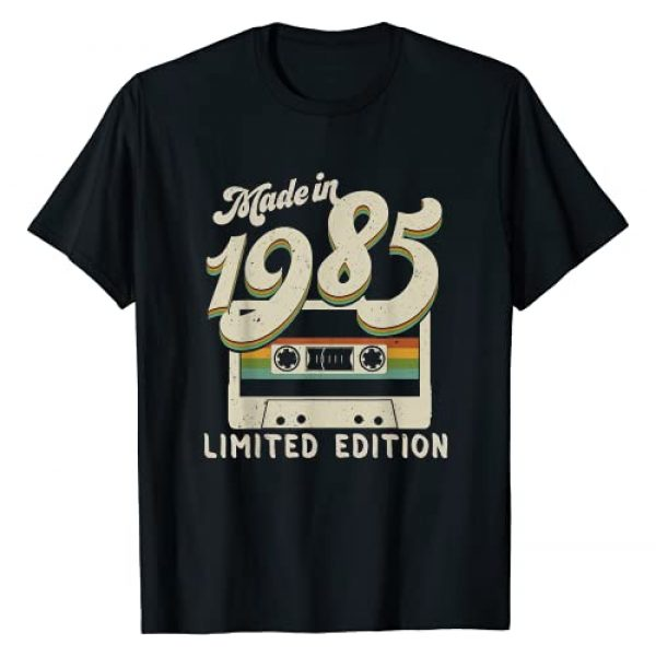 Funny 36th Birthday Gifts Graphic Tshirt 1 Vintage Made In 1985 Limited Edition 1985-36th Birthday Gift T-Shirt