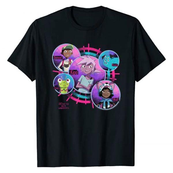 Kipo And The Age Of Wonderbeasts Graphic Tshirt 1 Group Shot Circles T-Shirt