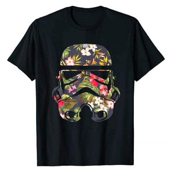 Star Wars Graphic Tshirt 1 Tropical Stormtrooper Floral Print Graphic T-Shirt T-Shirt