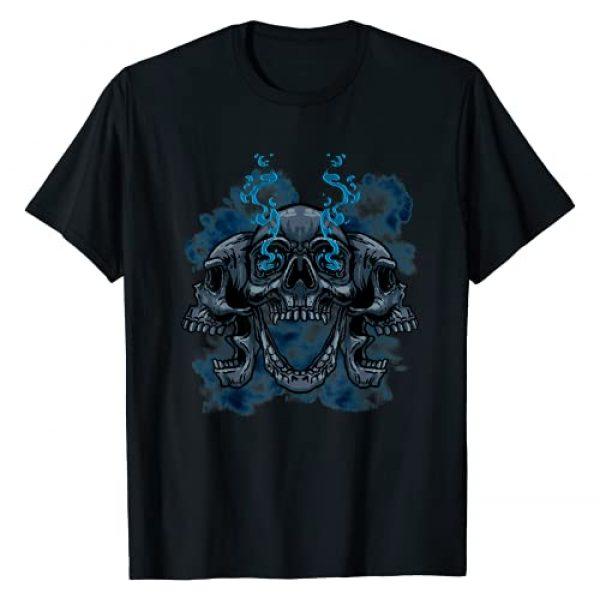 Skull N Bones Tees and Gifts Graphic Tshirt 1 Skull Skeleton Dead Head Bones Death Cool Skulls Gift Idea T-Shirt
