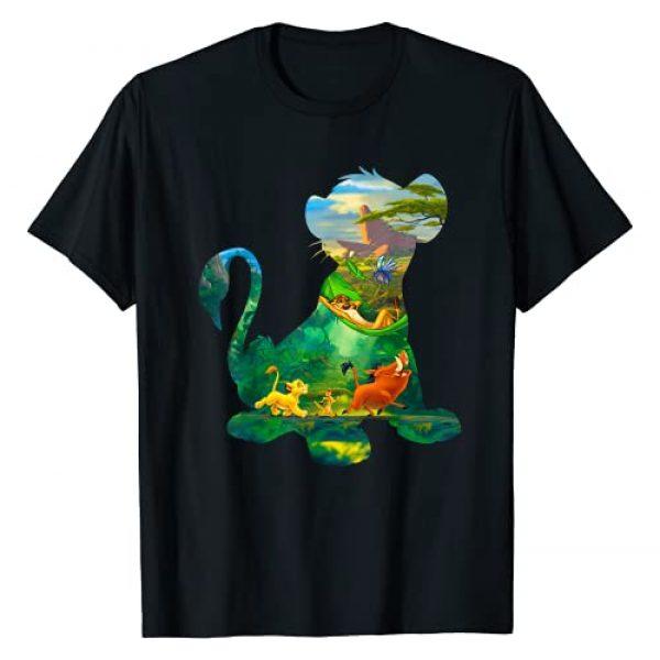 Disney Graphic Tshirt 1 Lion King Simba Silhouette Graphic T-Shirt T-Shirt