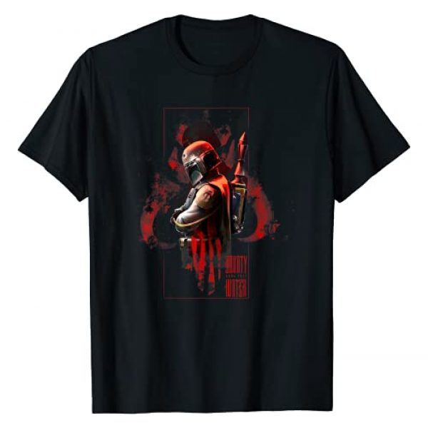 Star Wars Graphic Tshirt 1 Boba Fett Hunter Box Mandalorian Graphic T-Shirt T-Shirt