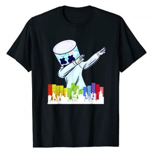 Vintage Marshmallows Christmas Graphic Tshirt 1 All I Want For Christmas Is Marshmallow DJ Dance Gift X-mas T-Shirt