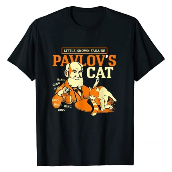 Little Known Failure Pa-vlov's Cat By Merch Graphic Tshirt 1 Little Known Failure Pa-vlov's Cat Funny Cat Lover T-Shirt