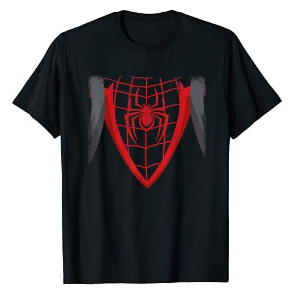 Marvel Graphic Tshirt 1 Spider-Man Miles Morales Game Spider-Cat Backpack T-Shirt