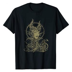 Disney Graphic Tshirt 1 Sleeping Beauty Maleficent Crow Branches T-Shirt T-Shirt
