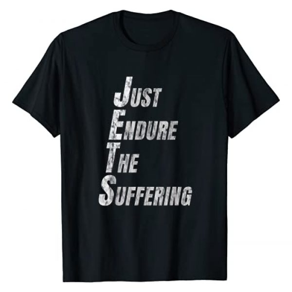 Funny Rule Football Graphic Tshirt 1 Funny Just Endure The Suffering New York Football T-Shirt