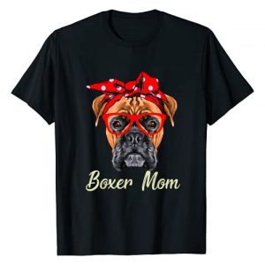 Lovely, Cute and Funny Pets Graphic Tshirt 1 Dog Lovers Boxer Mom Gift T-Shirt