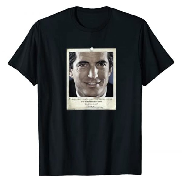 The Antediluvian Graphic Tshirt 1 JFK Jr. Famous Cryptic Quote T-Shirt