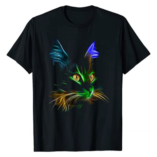 Free Wear Graphic Tshirt 1 Best Colorful Cat Design, For Cat Lovers, Who Love Cool Cats T-Shirt