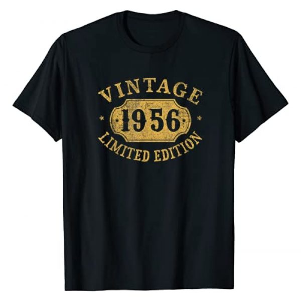 Jomqueru Birthday Aniv Limited Graphic Tshirt 1 65 years old 65th Birthday Anniversary Gift Limited 1956 T-Shirt