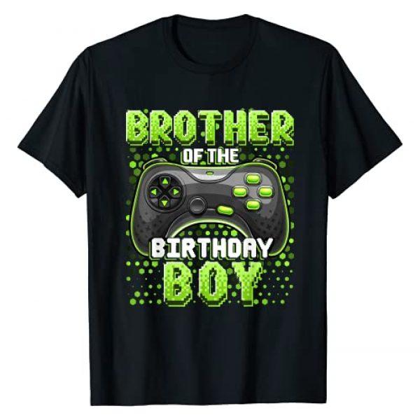 Birthday Gamer Shirts Graphic Tshirt 1 Brother of the Birthday Boy Matching Video Game Birthday T-Shirt