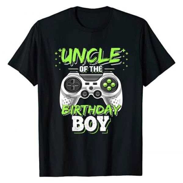 Birthday Gamer Shirts Graphic Tshirt 1 Uncle of the Birthday Boy Matching Video Game Birthday Gift T-Shirt