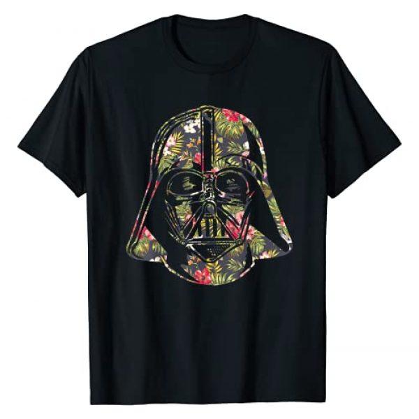 Star Wars Graphic Tshirt 1 Darth Vader Floral Tropical Hawaiian Flower Bouquet T-Shirt T-Shirt
