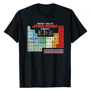 Star Wars Graphic Tshirt 1 Periodic Table of Elements Graphic T-Shirt T-Shirt