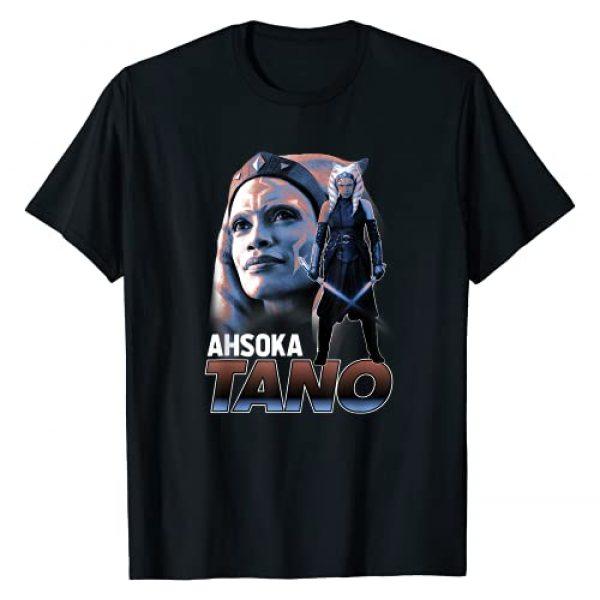 Star Wars Graphic Tshirt 1 The Mandalorian Ahsoka Tano Collage R13 T-Shirt