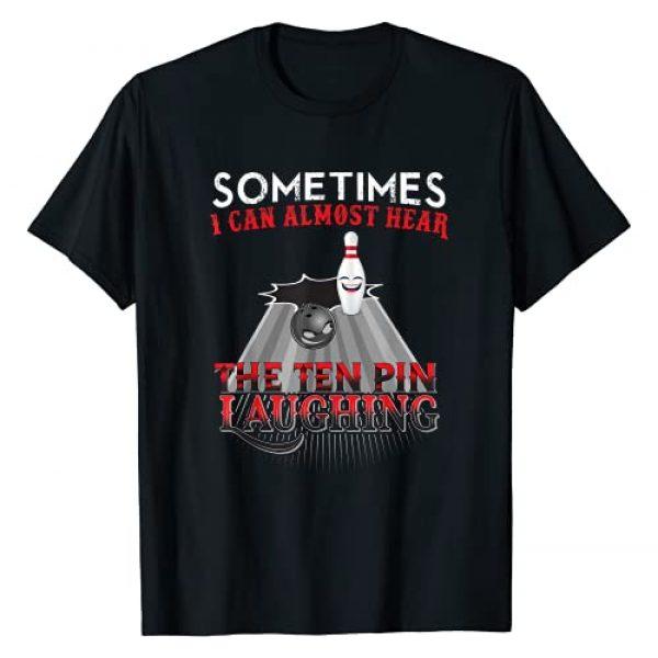 Funny Bowling Ten Pin Shirts Graphic Tshirt 1 Funny Bowling Ten Pin Design T-Shirt