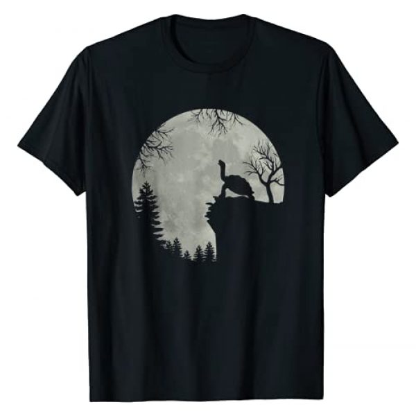 Green sea turtle ocean turtle howling Graphic Tshirt 1 forest moon mountain T-Shirt