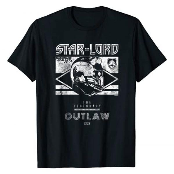 Marvel Graphic Tshirt 1 Star-Lord Guardians of Galaxy 2 Legend Graphic Shirt T-Shirt