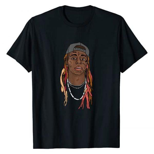 Lil Wayne Graphic Tshirt 1 Illustrated Face T-Shirt