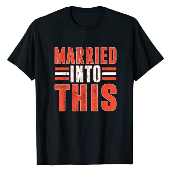 Sundays Are For The Dawgs Graphic Tshirt 1 Married Into This Cleveland Funny Gift T-Shirt