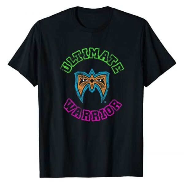 WWE Graphic Tshirt 1 Ultimate Warrior & Mask Neon Colors T-Shirt