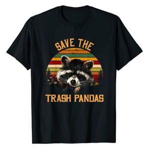 Trash Panda Raccoon Vintage Shirts For Men Women Graphic Tshirt 1 Save The Trash Pandas Raccoon Shirt Raccoon Animal T-shirt T-Shirt