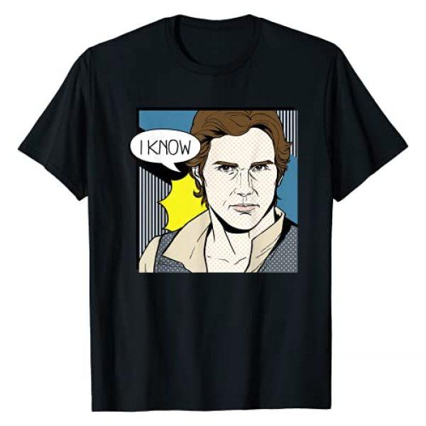 Star Wars Graphic Tshirt 1 Han Solo I Know Pop Art Couples Graphic T-Shirt T-Shirt