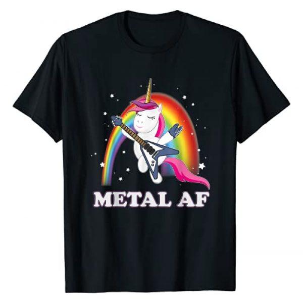 Heavy Metal Band T-Shirt Death Metal Unicorn Graphic Tshirt 1 Funny Heavy Metal Unicorn Death Metal Shirt For Men Woman T-Shirt