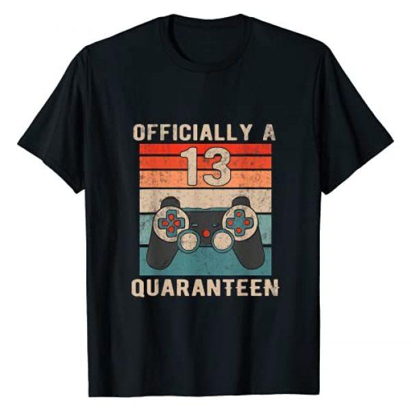 13th Birthday Quarantine shirt Graphic Tshirt 1 Quaranteen Birthday Shirt 13 Funny Teenager Gift T-Shirt