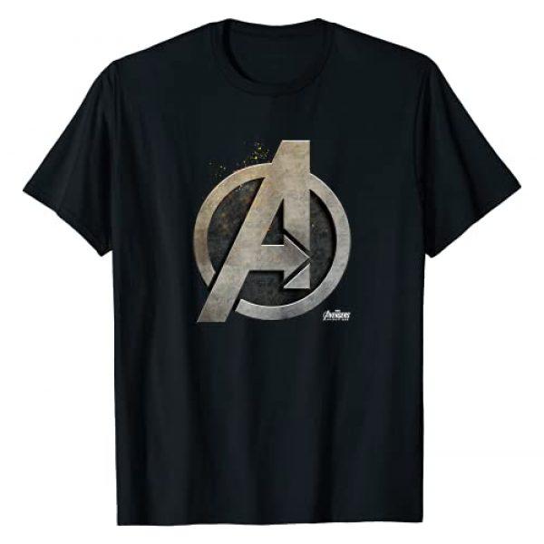 Marvel Graphic Tshirt 1 Avengers Infinity War Steel Symbol Graphic T-Shirt T-Shirt