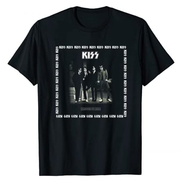 KISS Graphic Tshirt 1 1975 Dressed to Kill T-Shirt