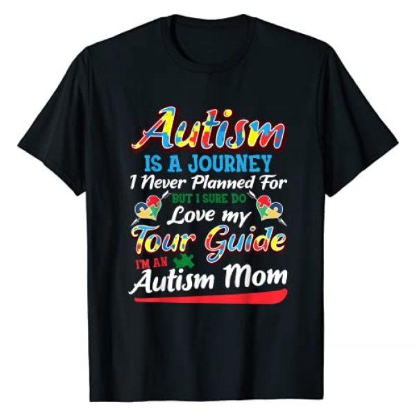Autism Mom Shirt & Tees Graphic Tshirt 1 Autism Mom Shirt Autism Awareness Shirt Autism Is A Journey T-Shirt