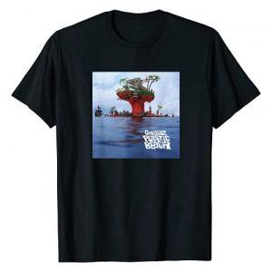 Gorillaz Graphic Tshirt 1 Plastic Beach LP Cover T-Shirt