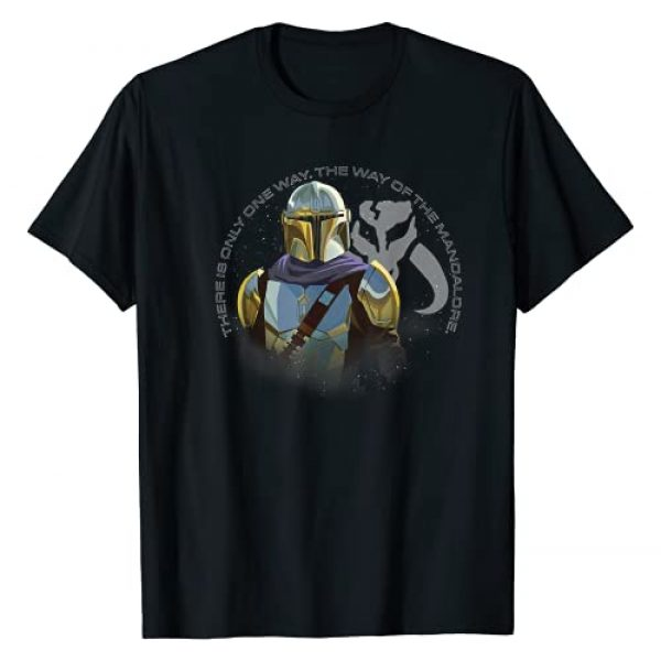 Star Wars Graphic Tshirt 1 The Mandalorian The Way Of The Mandalore T-Shirt