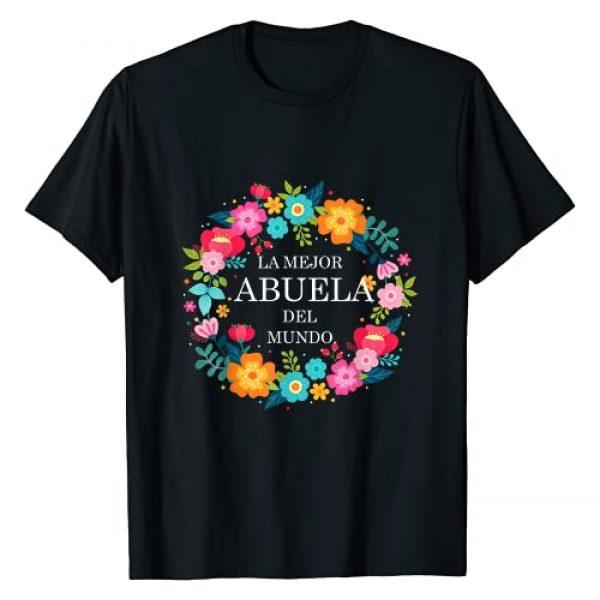 Dia de las Madres Designz Graphic Tshirt 1 Dia de las Madres ABUELA Dia de Mama madre regalo gift T-Shirt