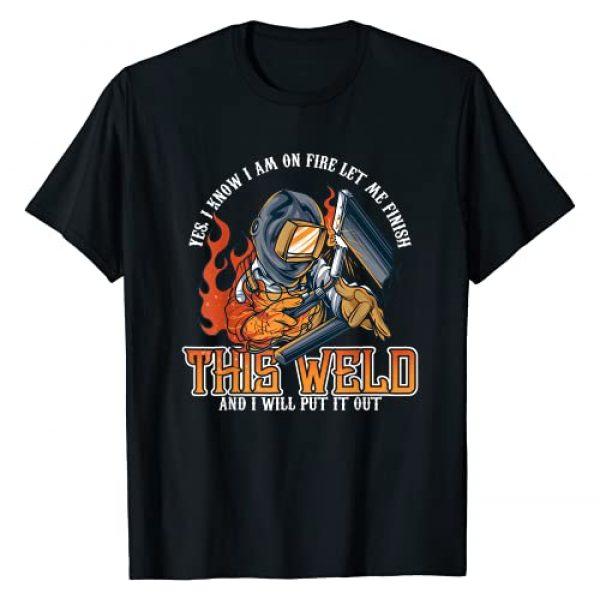 Welder Shirt & Tees Co Graphic Tshirt 1 Welder Shirts For Men Funny Welding Tshirts Funny Saying T-Shirt
