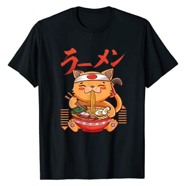 Perfect Japanese Anime Enthusiast by B Goods Co. Graphic Tshirt 1 Ramen Cat Japanese Anime Cute Kawaii Lucky Cat Gift T-Shirt